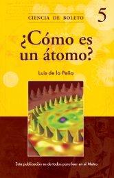 ¿Cómo es un átomo? - Metro - Gobierno del Distrito Federal