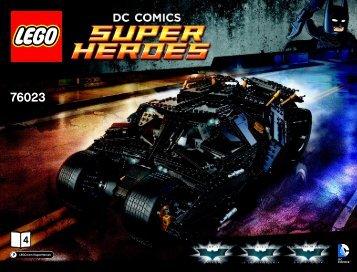 Lego The Tumbler 76023 - The Tumbler 76023 Bi 3019 / 60 - 65g 76023 4/5 V39 - 2