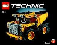 Lego Mining Truck 42035 - Mining Truck 42035 Bi 3018/60-65g 42035 V29/v39 1/2 - 1