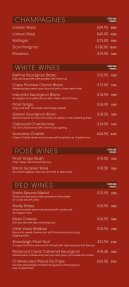 wine list - Seite 2