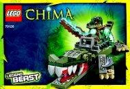 Lego CHIMA Value Pack 66491 - Chima Value Pack 66491 Bi 3001/36-65g 70126 V29 - 1