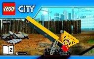Lego Excavator and Truck 60075 - Excavator And Truck 60075 Bi 3004/24 - 60075 V29 2/3 - 3