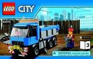 Lego Excavator and Truck 60075 - Excavator And Truck 60075 Bi 3004 / 60+4 / 65+115g - 60075 V39 3/3 - 1
