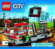 Lego Demolition Site 60076 - Demolition Site 60076 Bi 3017 / 76+4 - 65/115g-60076 V39 4/4 - 6