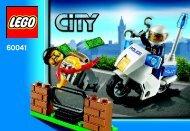 Lego CITY Police Value Pack 66492 - City Police Value Pack 66492 Bi 3001/20 -60041 V29 - 1
