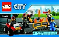 Lego Fire Starter set 60088 - Fire Starter Set 60088 Bi 3003/32-60088 V39 - 2