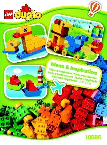 Lego LEGO® DUPLO® Creative Suitcase 10565 - Lego® Duplo® Creative Suitcase 10565 Inspirational Leaflet 3022/8 10565 V29 - 1