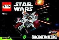 Lego ARC-170 Starfighter™ 75072 - Arc-170 Starfighter™ 75072 Bi 3001/32 - 75072 V29 - 1