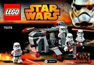 Lego Imperial Troop Transport 75078 - Imperial Troop Transport 75078 Bi 3001/36-65g 75078 V29 - 1