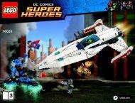 Lego Darkseid Invasion 76028 - Darkseid Invasion 76028 Bi 3019/48-65g 76028 V39 3/3 - 6