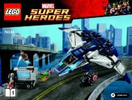 Lego The Avengers Quinjet City Chase 76032 - The Avengers Quinjet City Chase 76032 Bi 3019/60+4*-76032 V39 1/2 - 2