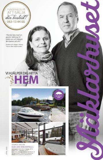 Mäklarhuset - Vi hjälper dig hitta hem, april 2015
