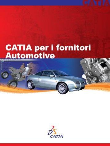 CATIA per i fornitori Automotive