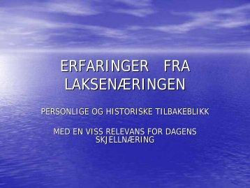 ERFARINGER FRA LAKSENÆRINGEN - BluePlanet AS