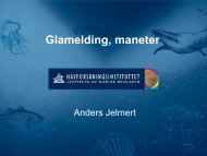 Gladmelding manet - BluePlanet AS