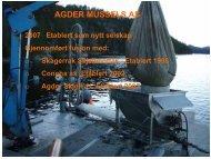 Skagerrak Skjellmottak. Etablert 1998 - BluePlanet AS