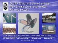Quality Equipment Limited and the New Zealand ... - BluePlanet AS