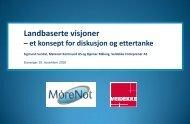 Veidekke og Mørenot - BluePlanet AS