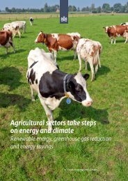 Agricultural sectors take steps on energy and climate Renewable ...