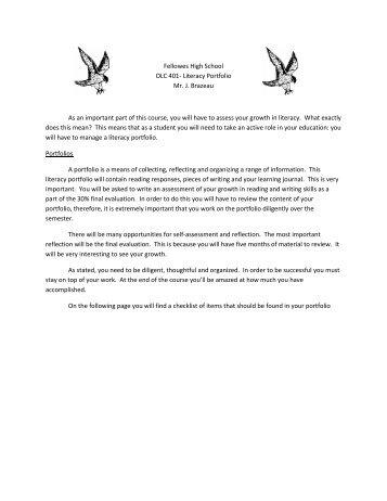 OLC 401- Portfolio Assignment.pdf - J. Brazeau