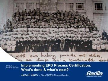 Diapositiva 1 - The International EPD® System