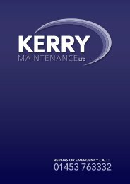 Kerry Maintenance