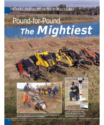 Pound for Pound: the Mightiest - Construction Writers Associations