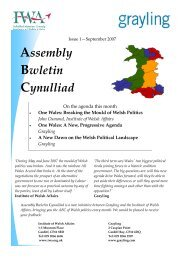 Bwletin Issue 1 final - Click on Wales
