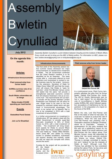 ABC July 2012 - Click on Wales