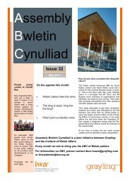 ABC May 2011 - Issue 32 - Click on Wales