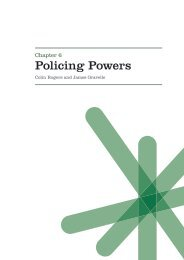 6. Policing Powers - Click on Wales