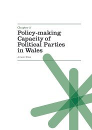 2. Policy-Making Capacity of Political Parties in Wales - Click on Wales
