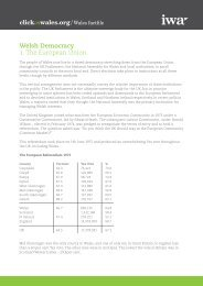 Welsh Democracy 1. The European Union - Click on Wales