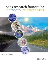 april 2013 annual report - SENS Foundation