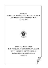 Panduan Penyusunan SPJ Penelitian 2012 - UPPM - Universitas ...