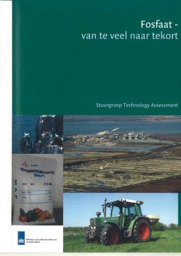Bijlage 1: Taak en samenstelling Stuurgroep Technology Assessment