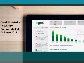 Meal Kits Market in Western Europe: Market Guide to 2017