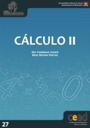 Cálculo II - Série Conhecimento - UFV