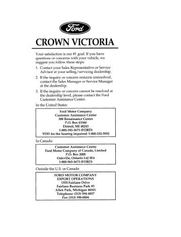 ford crown victoria instant classic retroautos rh yumpu com 2000 ford crown victoria owners manual pdf Ford Crown Victoria Police Interceptor