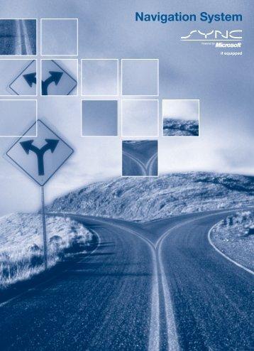 Ford Taurus 2008 - Pioneer Navigation System Supplement Printing 1 (pdf)