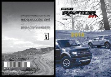 Ford F-150 2010 - F-150 Raptor Supplement Printing 3 (pdf)
