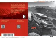Ford F-150 6.2 Liter Lariat 2013 - F-150 Raptor Off Road Overview Quick Reference Guide Printing 1 (pdf)