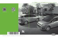 Ford C-MAX Hybrid 2013 - Owner Manual Printing 3 (pdf)