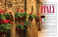 italian Wine Regions - Elegant Living Magazine