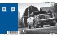 Ford F-150 2014 - Owner Manual Printing 3 (pdf)