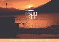 Alle Veranstaltungen im Weinsommer 2015