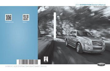 Ford Expedition 2014 - Owner Manual Printing 1 (pdf)