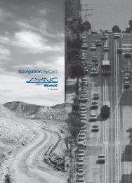 Ford Expedition 2010 - Navigation System Supplement Printing 2 (pdf)