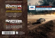 Ford F-150 6.2 Liter Lariat 2014 - F-150 Raptor Off Road Overview Quick Reference Guide Printing 1 (pdf)