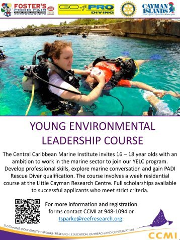 YOUNG ENVIRONMENTAL LEADERSHIP COURSE